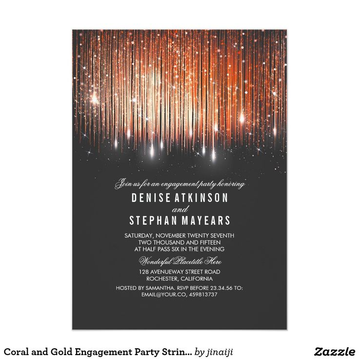 617 best Engagement Party Invitations images on Pinterest ...