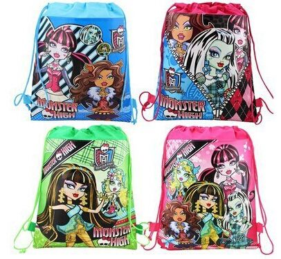 Ghost girl school ༼ ộ_ộ ༽ bag mochila escolar trade-sided printing backpack child 【title】 bag beam port non-woven children school bags &88275Ghost girl school bag mochila escolar trade-sided printing backpack child bag beam port non-woven children school bags &88275