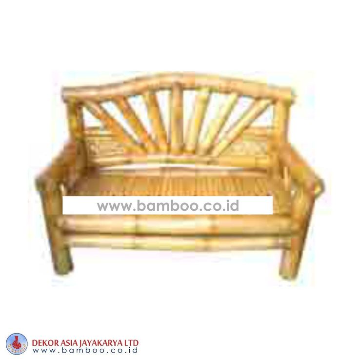 LAZY BENCH, BAMBOO FURNITURE