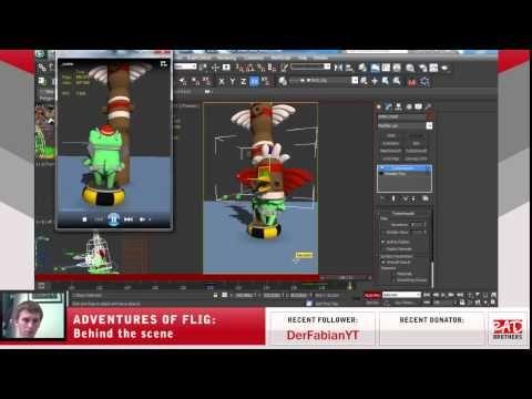 #22. Flig vs Shaman: Animations and modeling in 3ds max #twitch #indie #indiedev #gamedev #aoflig #fligadventures #adventuresofflig #flig