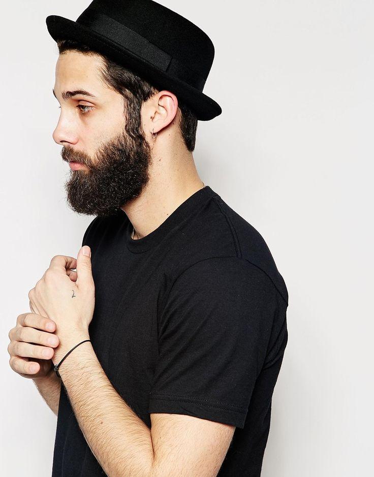 ASOS Pork Pie Hat In Black Felt                                                                                                                                                                                 More