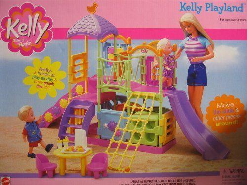 Barbie KELLY PLAYLAND Playset w Slides & Platforms (2001) by Mattel, http://www.amazon.com/dp/B001TLWUBQ/ref=cm_sw_r_pi_dp_MKDZrb1N28JTM