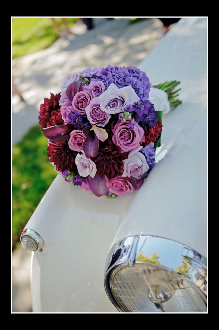 Purple Wedding Flowers September Wedding Pinterest