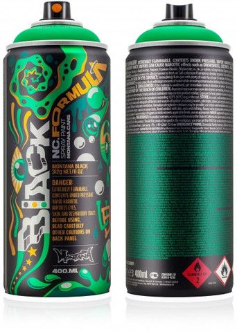 Haring, Basquiat and Saraiva Limited Edition Montana Cans