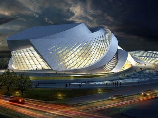 New Century City Art Centre in Chengdu