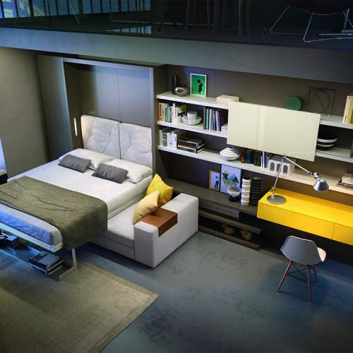 25 beste idee n over klein appartement ontwerp alleen op pinterest kleine appartementen - Decoratie studio ontwerp ...