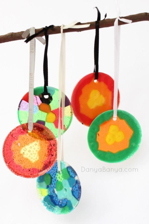 DIY Tutorial DIY Beads / DIY Melted Pony Bead Ornaments - Bead&Cord