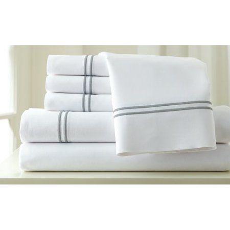 Amrapur Overseas Inc. Italian Hotel 1000 Thread Count Sheet Set, White