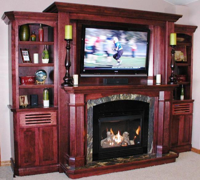 Google Image Result For Http://www.fireplacepackages.com/FG36P . Fireplace  MantelFireplacesBase CabinetsDouble DoorsCraftsman StyleEntertainment ...