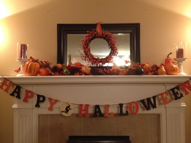 Halloween mantle 2012