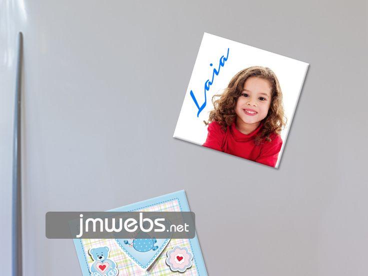Imanes Personalizados para Neveras y otras superficies. Precio: http://www.jmwebs.net/rotulacion-imanes-frigorifico-nevera.php o Teléfono 935160047