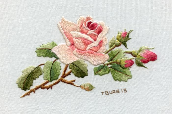 Miniature Needle Painting Book | Trish Burr Embroidery