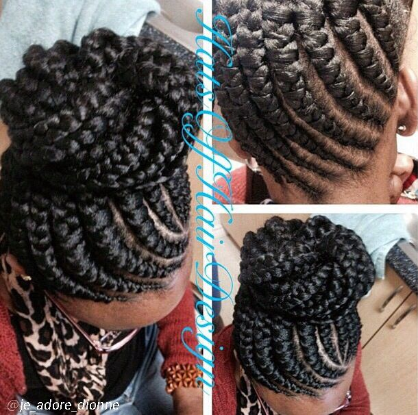 Ghana braids..so cute I had to pin it twice!!