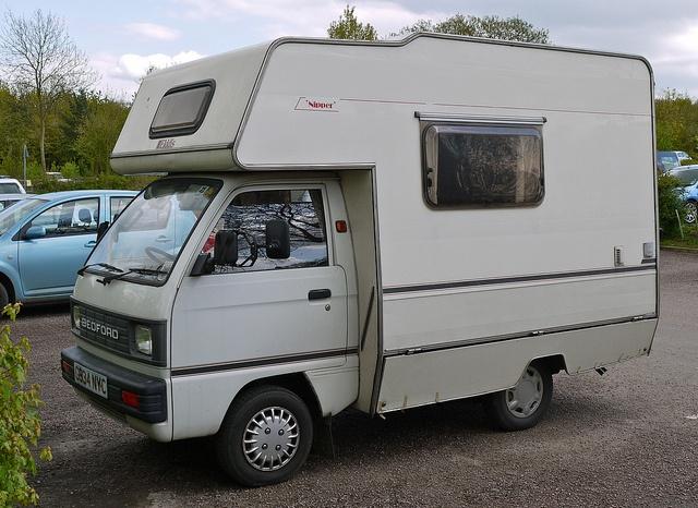 Bedford Rascal Camper Van