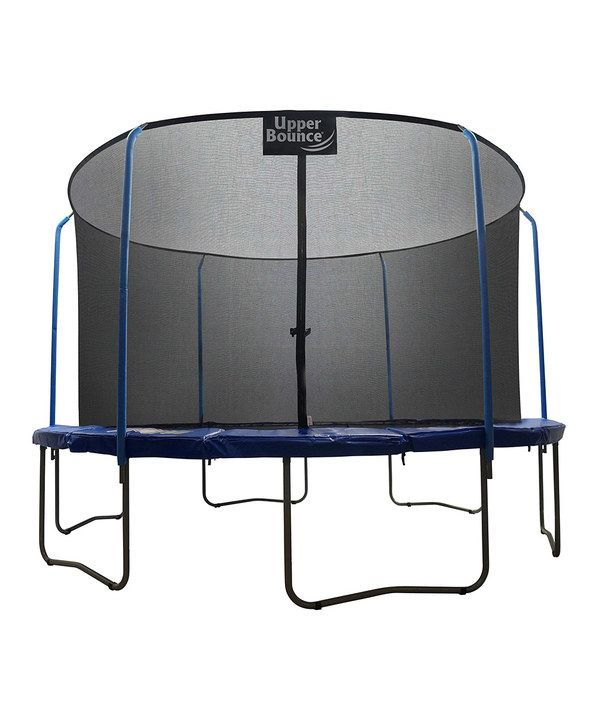 Look at this Skytric 15' Trampoline Set & Ringtop Enclosure on #zulily today!