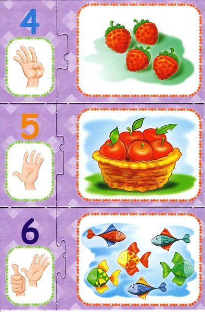 * Puzzelen, cijfers, vingers... 2-4