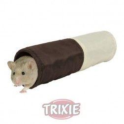 #roedor #snacks #vitaminicos #juguetes #jualas #huron #cobaya #hamster En: www.tiendaonlineparaanimales.com Túnel crujiente para hamsters, ø 6x25 cm