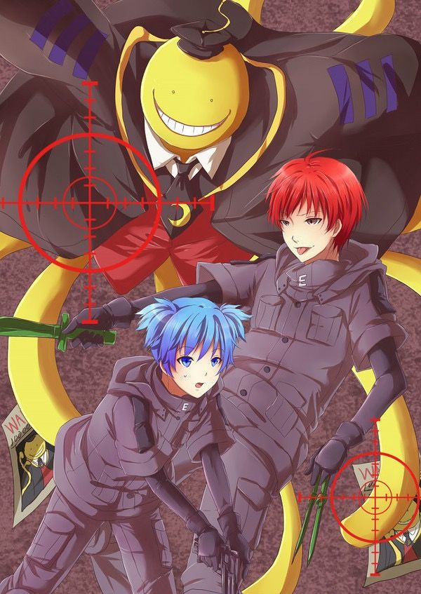 Assassination Classroom | anime. | Assasination classroom ...
