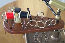 fly vise holder | ... Wild Cherry Wood Fly Tying Tool Caddy Mounts on Vise Shaft., $15.00