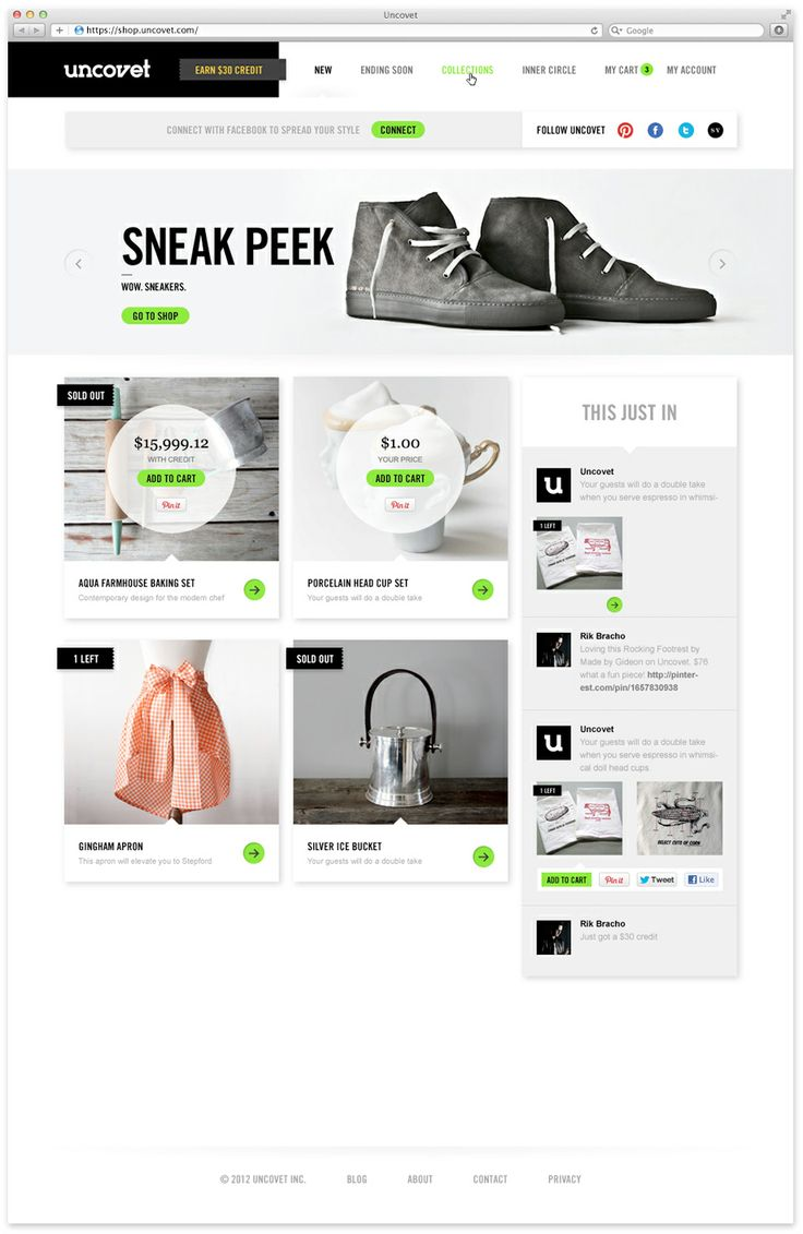 e-commerce web