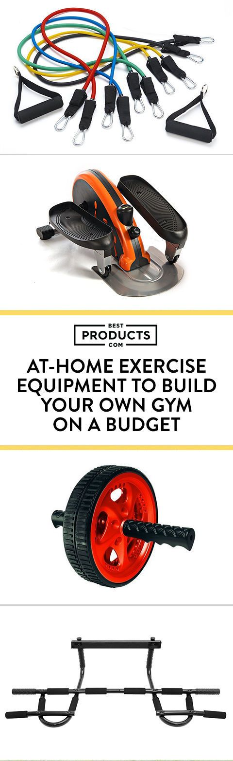 Gym equipment doesn't have to be fancy and expensive. As long as it can help you perform to the best of your ability, it's doing its job. Here is an array of home gym equipment — including an ab wheel, kettlebells, a stability ball, and more — that won't break the bank but still allow you to lift and tone in the comfort of your own living room.