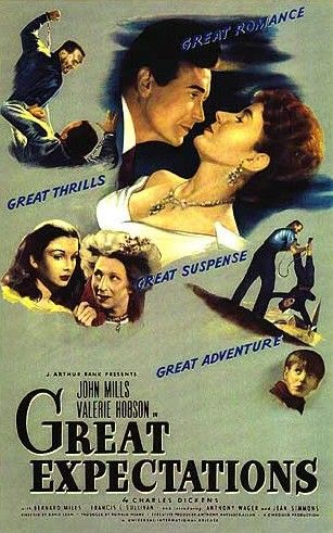 Theatrical Release Poster for David Lean's 1946 film adaption