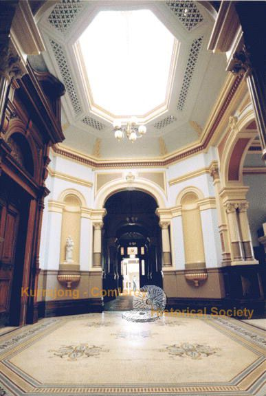 he hallway at St John of God Hospital, formerly Belmont Park on Grose Vale Road. This magnificent mansion was built by Philip Charley in 1892.