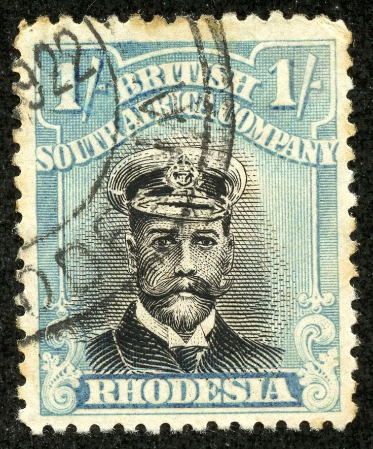 """1922 Scott 130 1sh turquoise blue & black """"King George V"""" Out of the Blue My goodness, I like these stamps! Maybe I should drop everything, and specialize in the African British colonial issues?..... But then, I like Latin America, Europe, and Asia offerings, to name a few geographical stamp issuing areas. And the French colonials are attractive as well."""