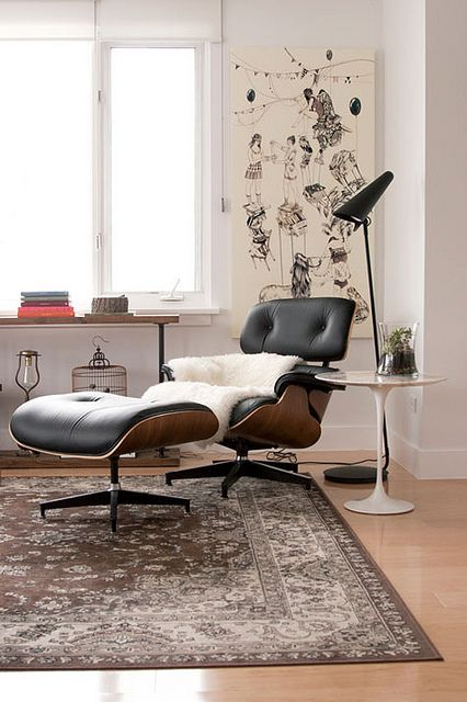 one day i will have an Eames lounge chair