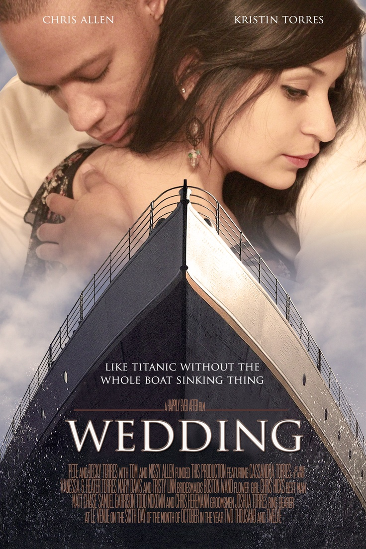 The Movie Poster my friends husband made for their Movie Themed Wedding. =) @Kristin Plucker Torres