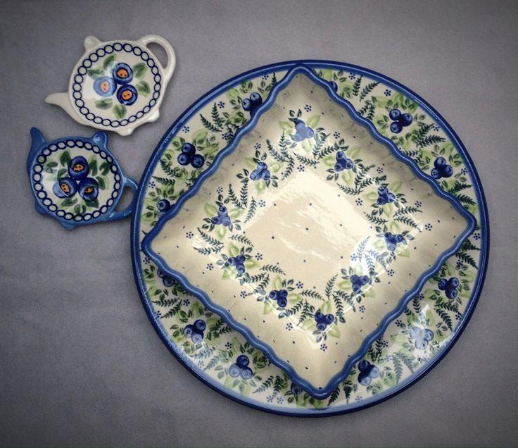 Коллекция Чернички. Pottery Boleslawiec  #посударучнойработы #керамикаручнойработы #посуда #ceramics #pottery #polishpottery ceramic tableware | pottery | polish pottery | boleslawiec | посуда | керамическая посуда | польская керамика | польская посуда | болеславская керамика | керамика