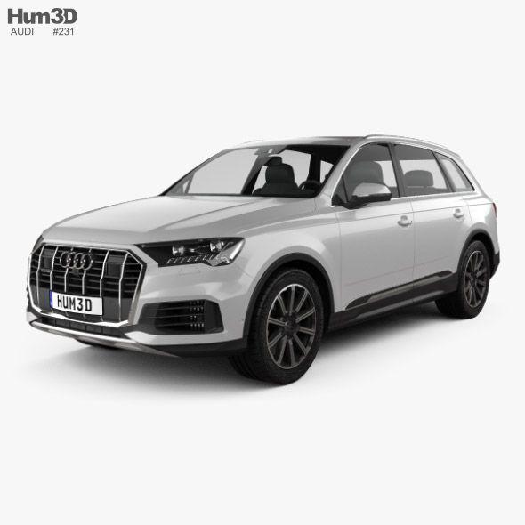 Audi Q7 2019 Audi Q7 Audi Car 3d Model