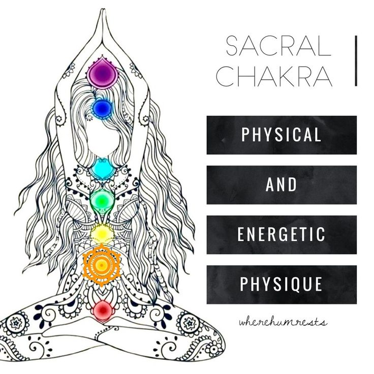 physical and energetic physique of the Sacral Chakra