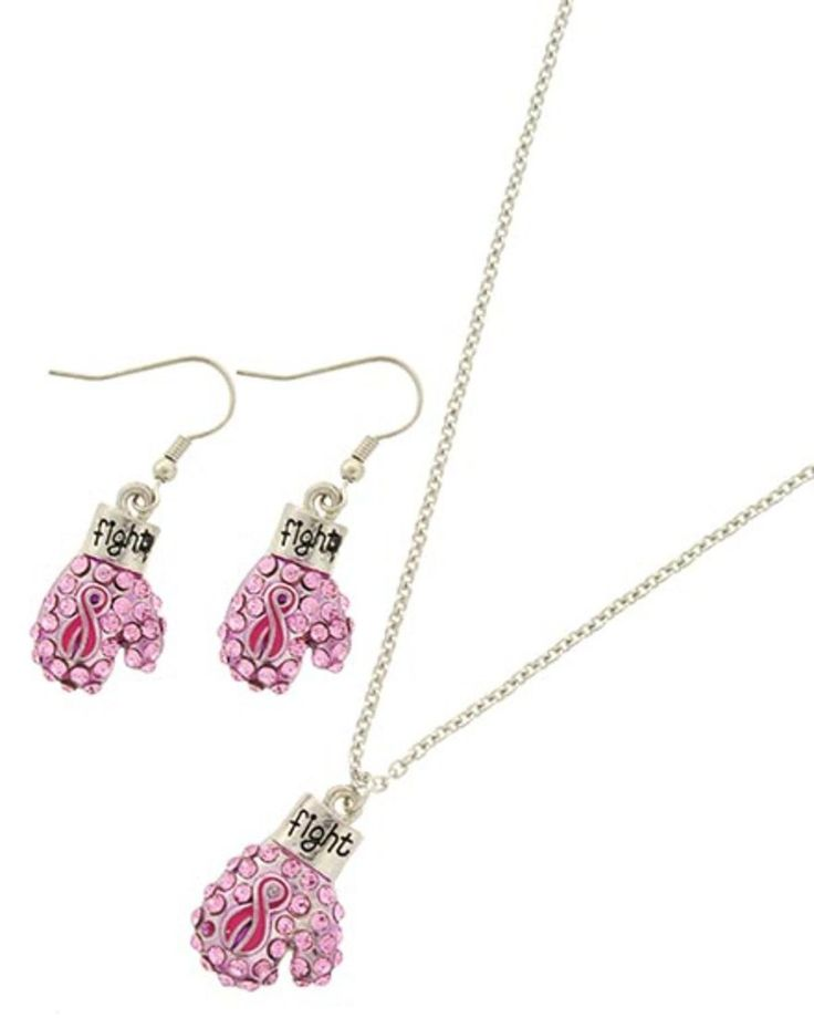 Checkout our #awesome product Breast Cancer Awareness - Pink Pendant Set / AZNSBCA240-SPP - Breast Cancer Awareness - Pink Pendant Set / AZNSBCA240-SPP - Price: $65.00. Buy now at http://www.arrascreations.com/breast-cancer-awareness-pink-pendant-set-aznsbca240-spp.html