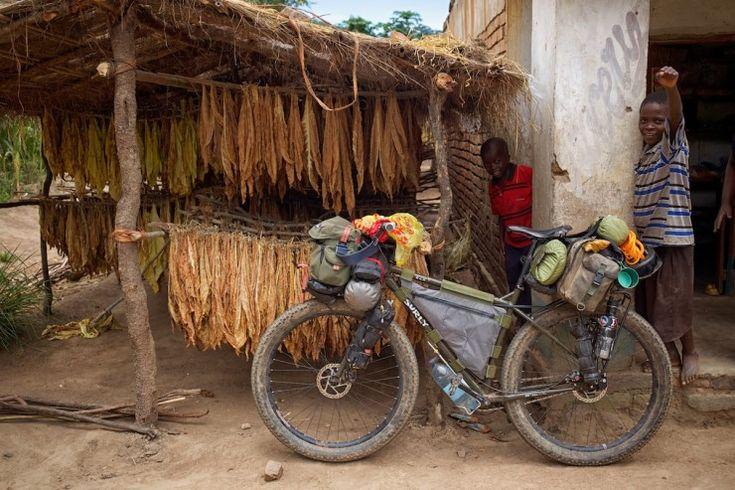 Bike Touring Malawi - Surly ECR