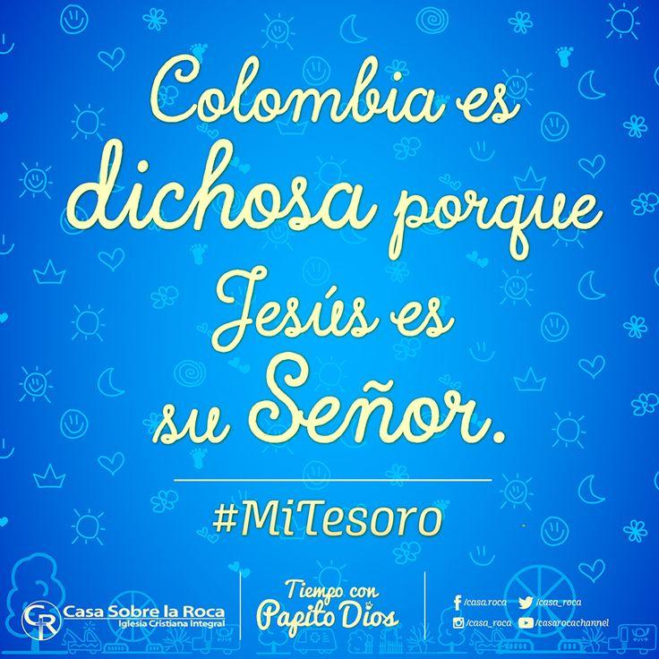 Colombia es dichosa porque Jesús es su Señor http://devocional.casaroca.org/rk/febrero02/ #MiTesoro