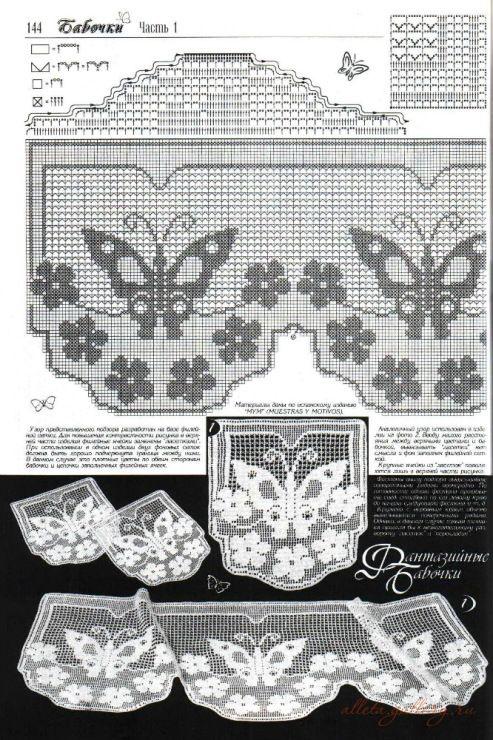 50 mejores imágenes sobre motifs; butterflies en Pinterest   Encaje ...