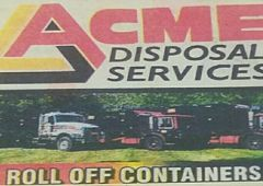 Acme Disposal Services - Monroe, LA -  We are locally owned and operated and have a variety of services available to you. We offer large Roll Off Containers, Clean Up Services and Demolition Services. We look forward to helping you today!  Acme Disposal Services 2225 Ruffin Dr, Monroe, LA 71202    http://www.20yardrolloffdumpster.com/blog/acme-disposal-services-monroe-la/