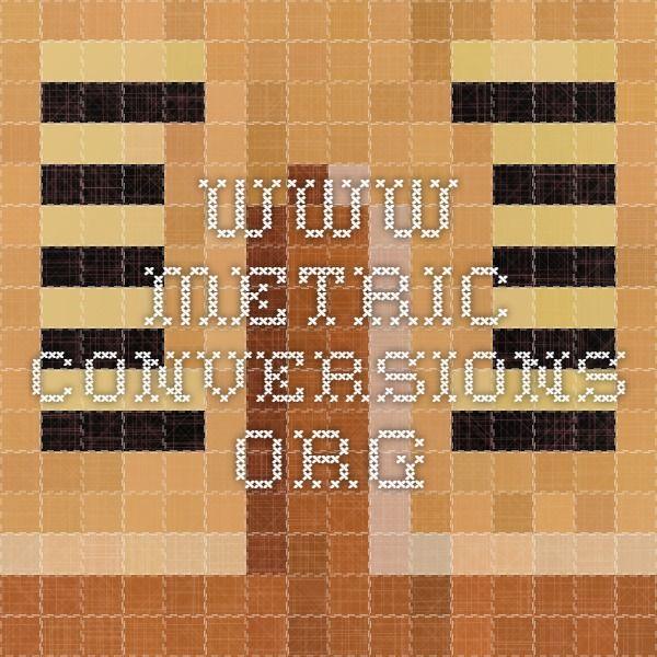 www.metric-conversions.org