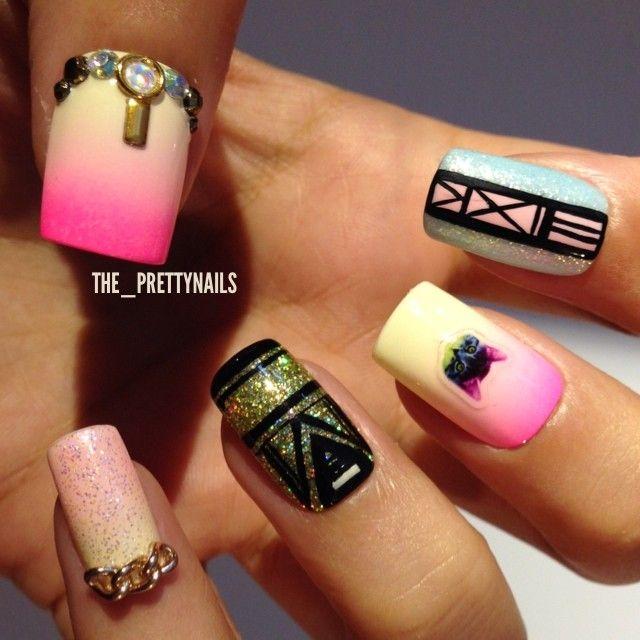 Short Nails Nail Art