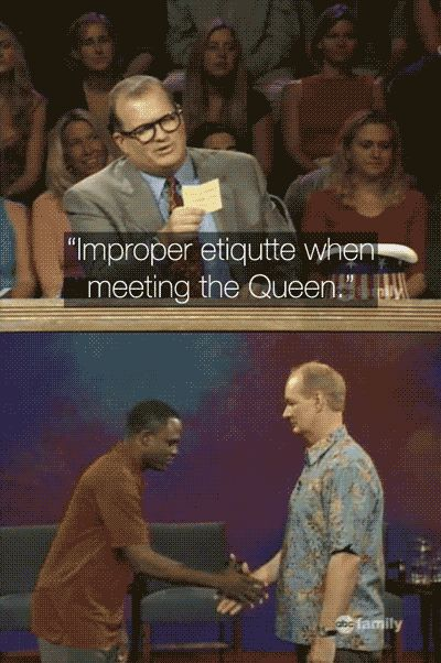 "And Wayne can show us how to respect other people's cultures: | 28 Reasons You Should Be Excited That ""Whose Line Is It Anyway?"" Is Coming Back"