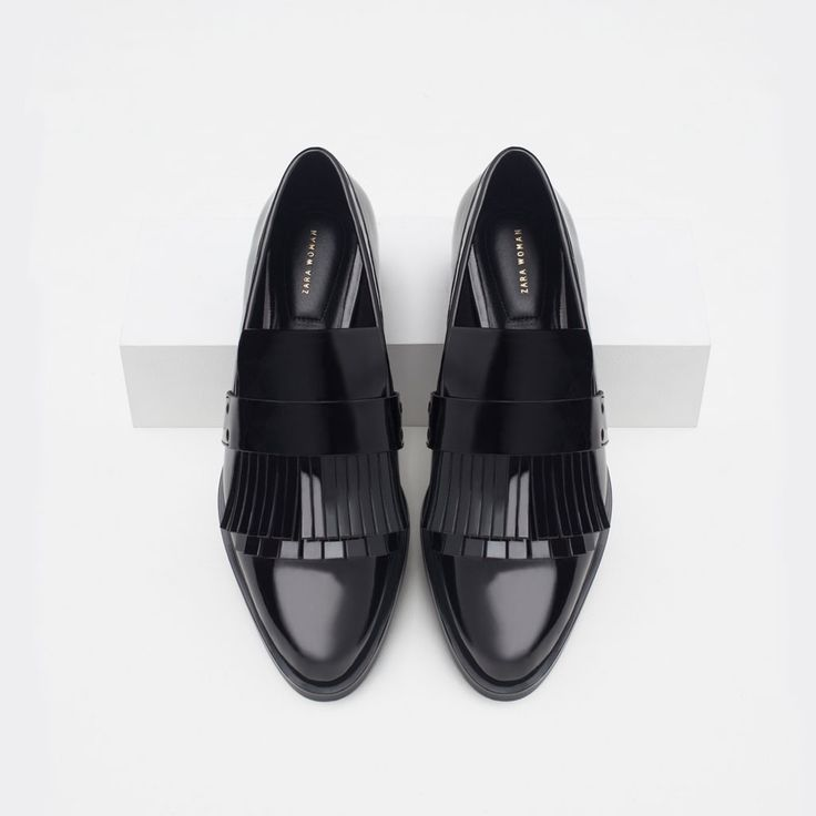 FRINGED PENNY LOAFERS-View all-Shoes-WOMAN | ZARA United States