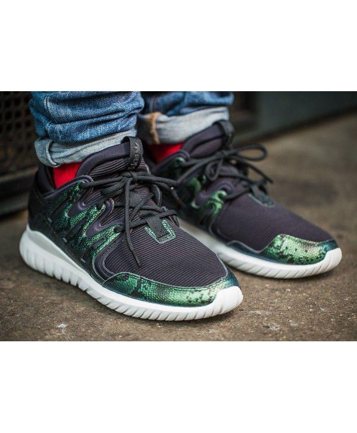 best cheap bb446 77337 Adidas Tubular Nova Green Snakeskin Shoes | tubular nova ...