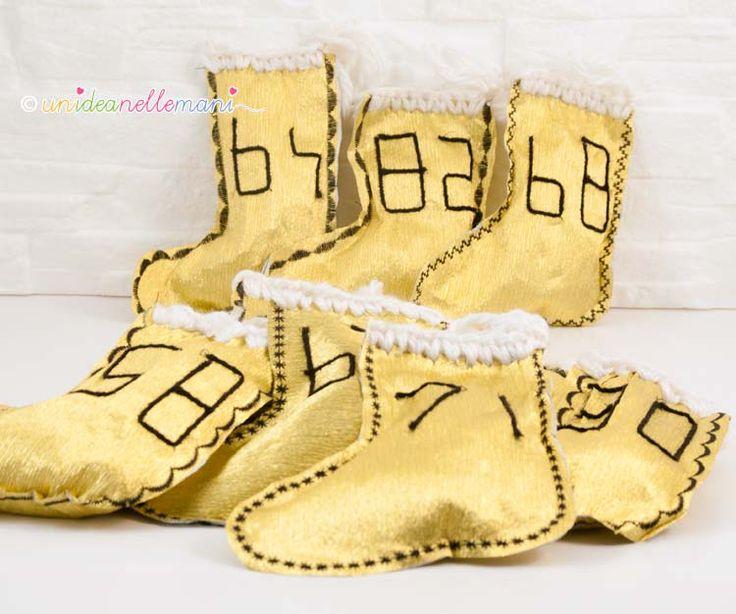 oltre 25 fantastiche idee su calze della befana su pinterest ... - Calze Della Befana Originali