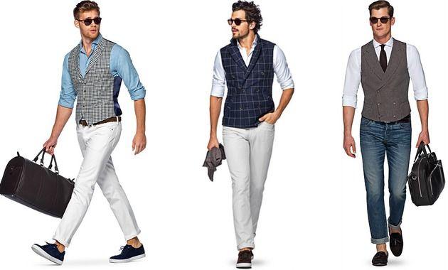 """ここ数年で一気に存在感を高めるメンズファッションアイテムといえば""""ベスト""""。着こなしや素材を選ぶことで季節を問わず活用できるワードローブのひとつとなっています。今回は春夏におすすめのベストスタイルをピックアップ! ベストの呼び名は各国で異なる※豆知識 ベスト(英:vest 仏:veste)でほぼ伝わりますが、特にイギリス英語ではウェストコート(waistcoat)、フランス語ではジレ(gilet)と言うことも多い。 ちなみにアメリカ英語におけるvestは、袖のない衣服全体を指し「シャツの下に着る肌着/タンクトップ」という意味にも使われます。ほぼ死語ですが、日本における「チョッキ」とは直着の訛りという説があります。 また、スーツやジャケットとセット売りされていない単体ベストを「オッドベスト」と呼びます。 自由度の高まるベストの着こなし 本来はテーラードジャケットとセットのイメージが強いベスト。 1920年〜1940年代に、デニムやショールカラーニットといったカジュアルアイテムと組み合わせるコーディネートが流行・一般化して以来、着こなし自由度は高い。 ..."""