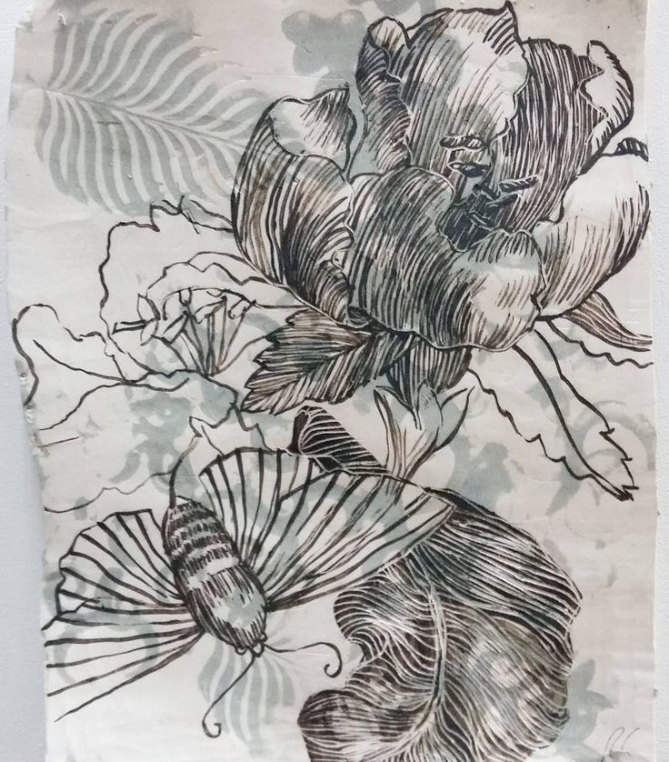 Roz Cryer. An Engraving from Erucarum Ortus. Porcelain and oxides.  #ceramics #porcelain #oxides #drawing #botanical #insects #durbanartgallery #durbanart #femaleartist #loadingbaygallery #conamore @rozcryer by loadingbaygallery