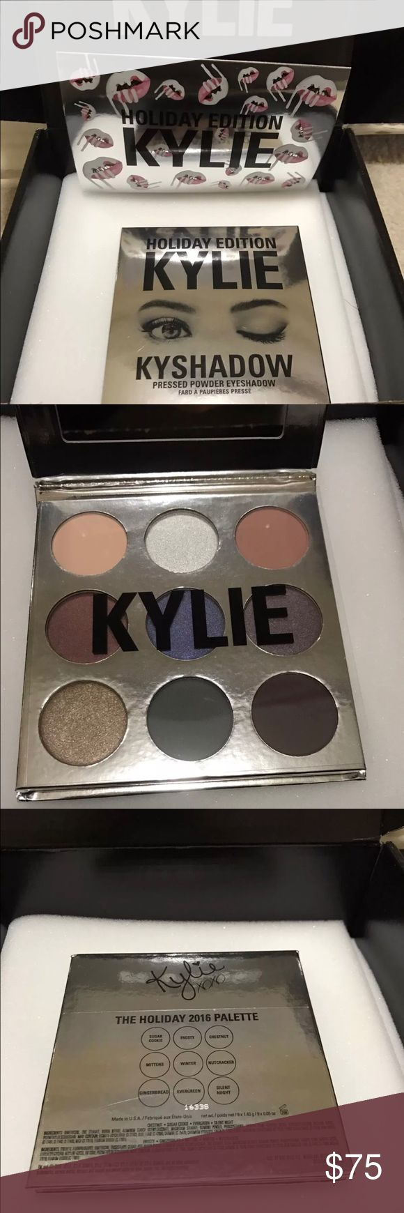 Kylie Jenner Holiday Kyshadow Palette Brand new in box! No trades or offers!! Kylie Cosmetics Makeup Eyeshadow