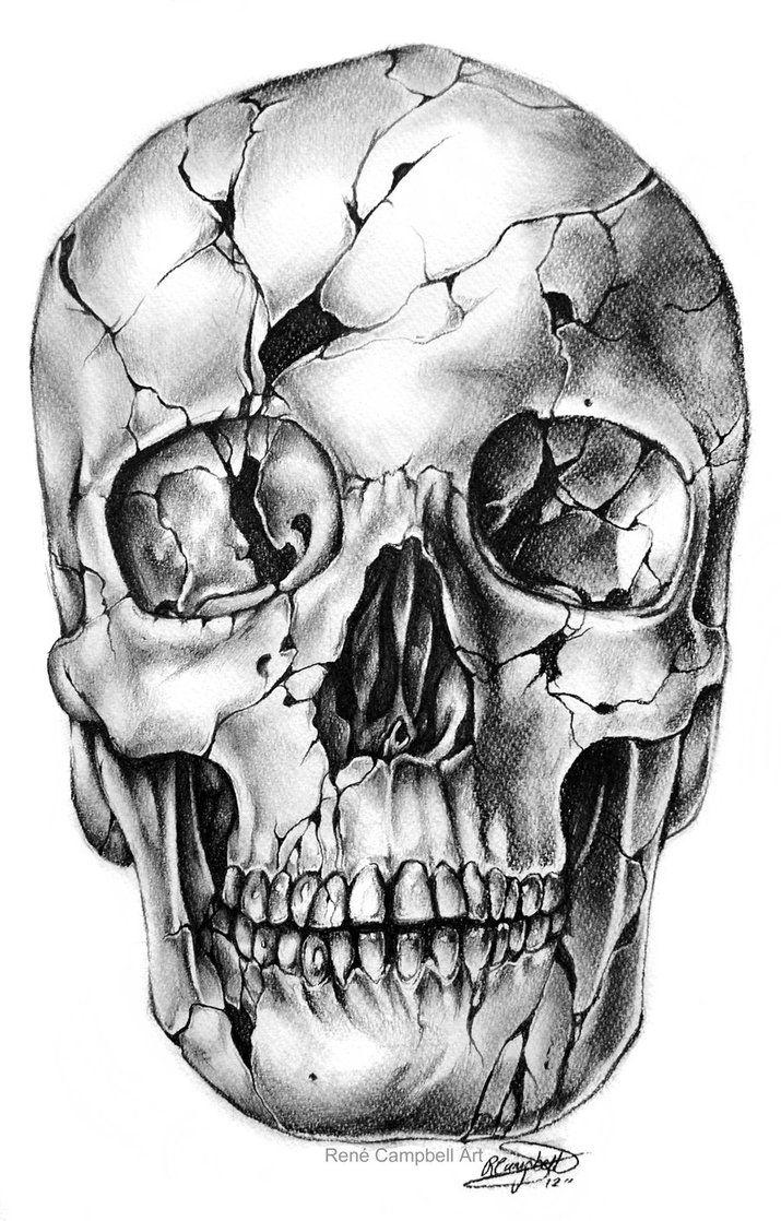 254 best draw .. a skull images on Pinterest | Skulls, Tattoo ideas ...