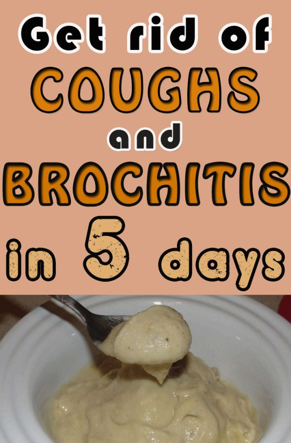 how to stop bronchitis cough
