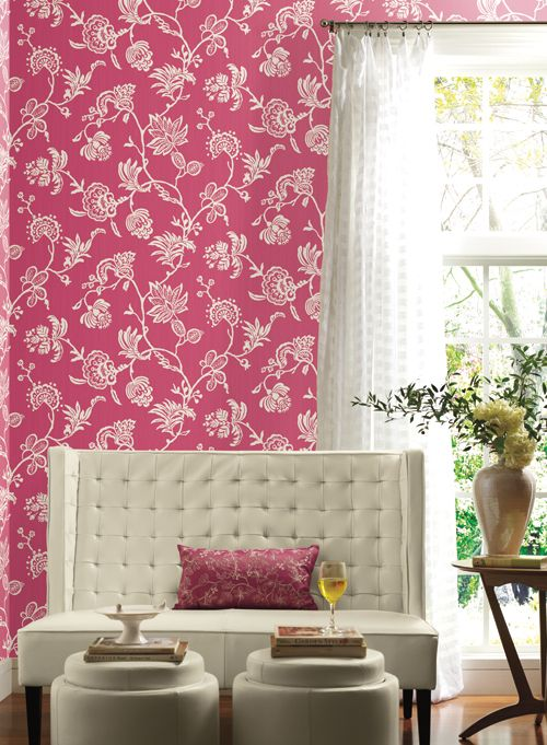 120 best Love This Room images on Pinterest | Wallpaper patterns ...